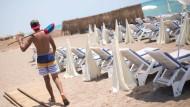 Leerer Strand in Antalya: Sind die Zahlen der türkischen Tourismusbranche falsch?