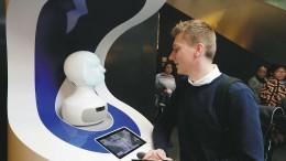 Der Roboter weiß den Weg