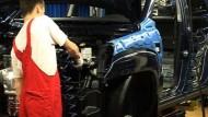 Auto-Standort Slowakei passt sich der Krise an