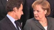 Merkel und Sarkozy einig zu G20