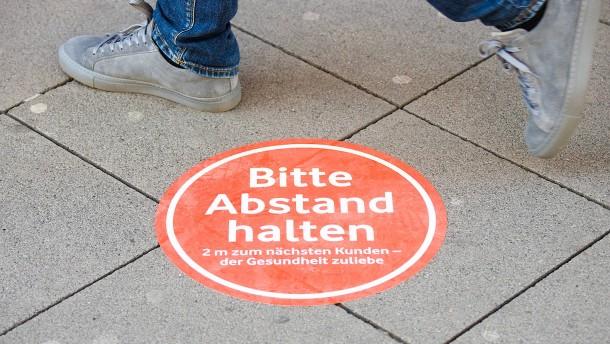 In Hessen bleiben große Läden weiter zu