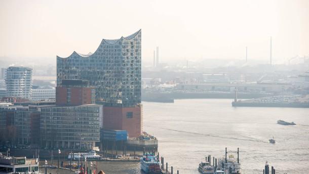 Luxuswohnen 110 Meter über der Elbe