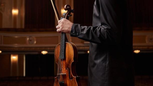 Diese Geige ist wie Gesang