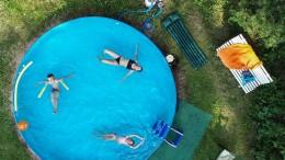 Sommer, Sonne, Swimmingpool