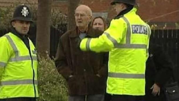 Britische Polizei vereitelt anscheinend Anschlag