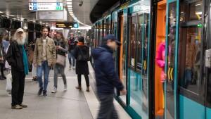 Einschränkungen bei U-Bahn in Frankfurt erwartet