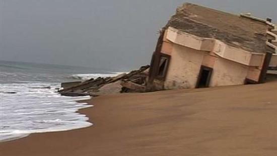 Benin kämpft gegen das Meer
