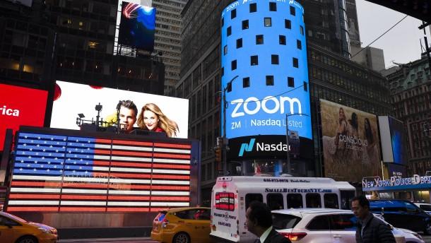 Die Anleger sind nicht zufrieden mit Zoom