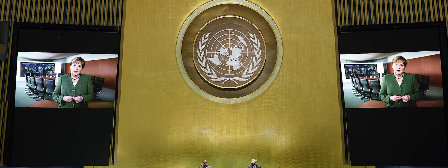 Merkel hält Plädoyer für Multilateralismus