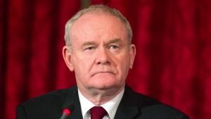 Ehemaliger nordirischer Vizeregierungschef gestorben