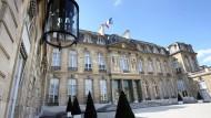 Treffen ohne Presse: Der Elysée-Palast in Paris.