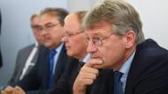An der Spitze: Jörg Meuthen ist Fraktionsvorsitzender der wiedervereinigten AfD im baden-württembergischen Landtag.