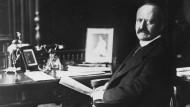Georg Michaelis (1857-1936). Der gelernte Jurist leitete das neue Ministerium für Lebensmittelversorgung. Undatierte Aufnahme.
