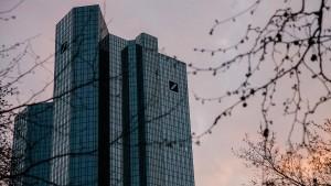 Aktienkurs der Deutschen Bank rutscht unter sechs Euro