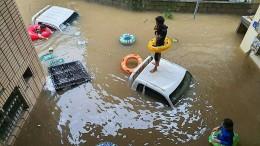 Tote und Obdachlose durch anhaltende Monsun-Regenfälle