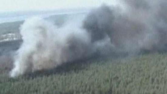 Schwere Waldbrände in Russland
