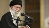 Irans Revolutionsführer Ali Chamenei feierte den Raketenangriff als einen Schlag ins Gesicht der Vereinigten Staaten.