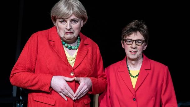 Mit Merkel-Raute auf Quoten-Fang