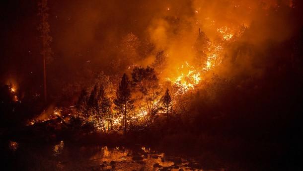 Waldbrände in Kalifornien nehmen kein Ende