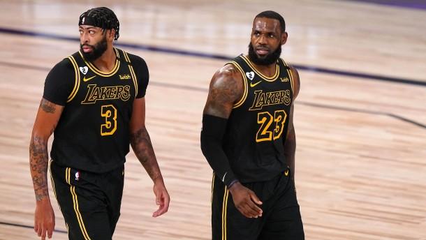 Lakers zwei Siege vom Titel entfernt