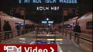 """""""Kyrill"""" legt Bahnverkehr in ganz Deutschland lahm"""