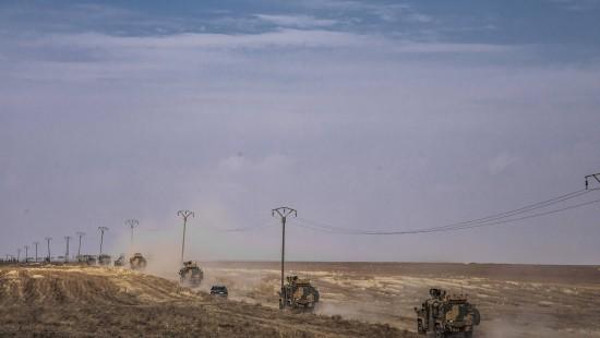Erste türkisch-russische Grenzpatrouillen gestartet
