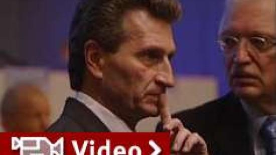 Oettinger entschuldigt sich