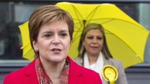 Regierungspartei SNP verpasst absolute Mehrheit