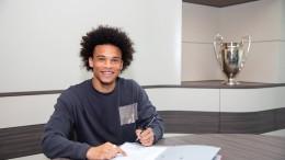 Leroy Sane geht zum FC Bayern München