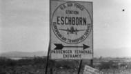 Nur wenige Monate nach dem Krieg: der amerikanische Flugplatz in Eschborn