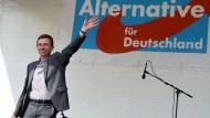 Eurokritische AfD will bei Europawahl punkten