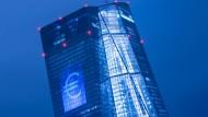 Kritik an der EZB: Viele deutsche Kreditinstitute kritisieren die Niedrigzinspolitik.