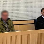 Lebenslange Haft: Der Verurteilte hatte seine Frau mit einem Auto und einer Axt getötet (Archivbild).