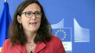 EU-Handelskommissarin: Keine Normen absenken