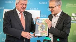 Schwarz-Grün hält in Hessen knappe Mehrheit