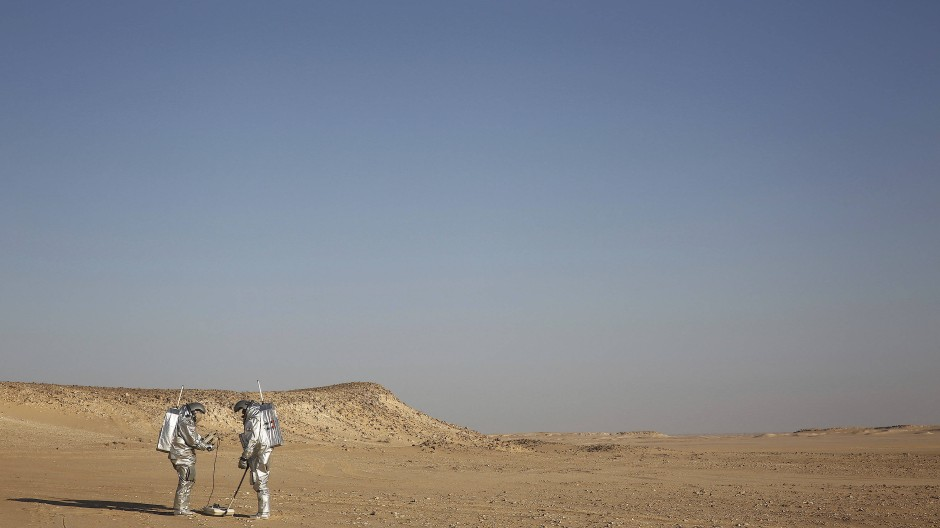 Aufgegebene Wüstenlandschaften: Wird die Südhalbkugel unbewohnbar werden?