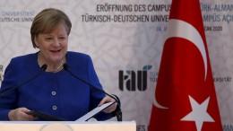 Merkel bei Eröffnung des Deutsch-Türkischen Campus