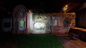 Frankfurts ältester Friedhof geschändet