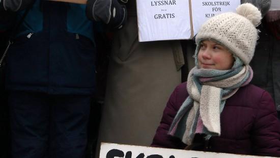 Greta Thunberg meldet sich zu Wort