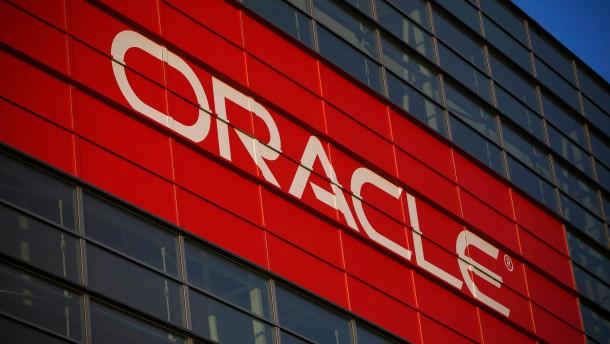 Oracle enttäuscht mit Umsatzflaute