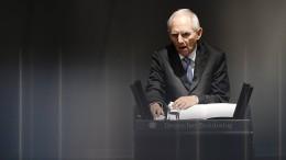 Schäuble warnt vor Erstarken von Hass-Ideologien