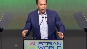 Schwarzenegger mahnt entschlossenen Kampf an