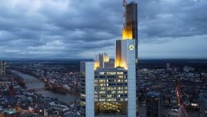 Der Commerzbank-Aktienkurs fällt auf Rekordtief