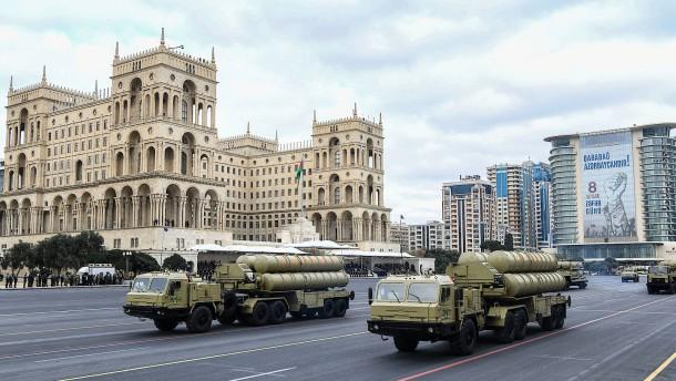 Siegestrunken in Baku