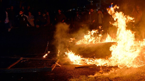 Straßenschlachten im Libanon