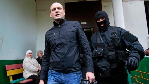 Oppositionsführer Udalzow festgenommen