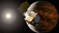 Erste Ansichten vom Höllenplaneten