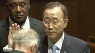 Ban Ki-moon wiedergewählt