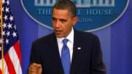 """Obama: """"Der nächste Schritt sind Sanktionen"""""""