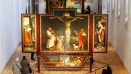 Gleich mehrere Kunstwerke in Film und Malerei zitieren aktuell Matthias Grünewalds Isenheimer Altar.